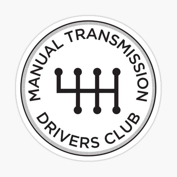 Manual Transmission Drivers Club #2 Sticker