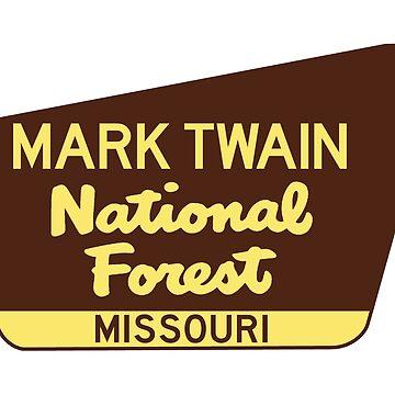 Mark Twain National Forest Park Sign by MyHandmadeSigns