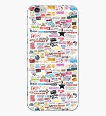 Musicals iPhone Case