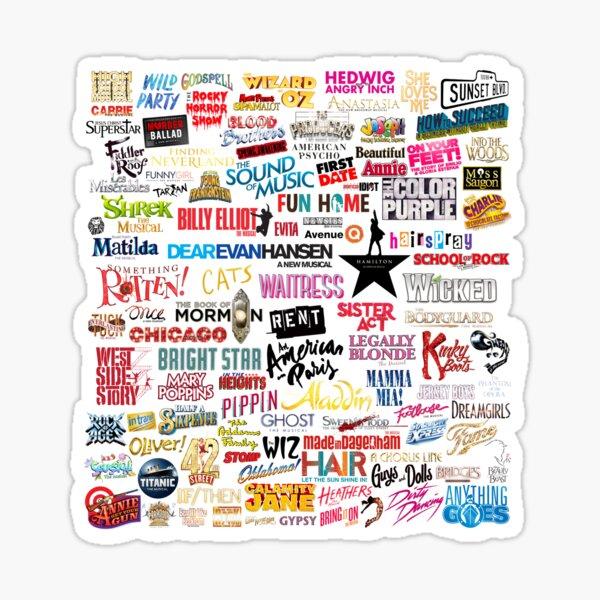 Musicals Sticker