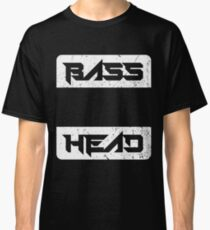 Bass Head - EDM, Heavy Metal Classic T-Shirt