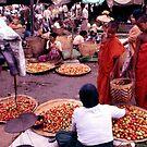 Burma market by John Spies