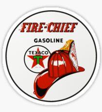 Texaco Fire Chief Sticker