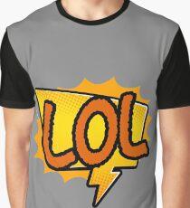 Sticker LOL laugh out loud gift idea Graphic T-Shirt