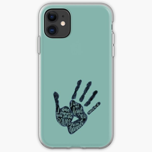 Isaiah 49:16 - Palm of his hands iPhone Soft Case