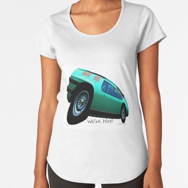 Imaginative Extreme Car Art Premium Scoop T-Shirt