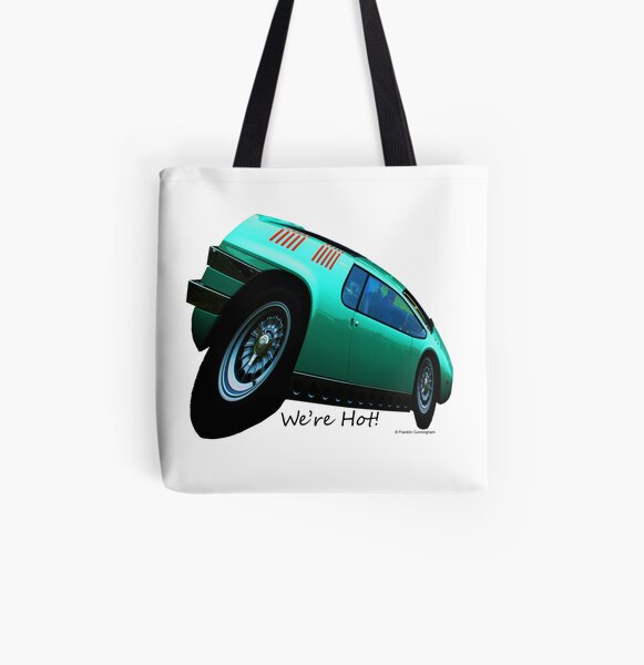 Imaginative Extreme Car Art All Over Print Tote Bag
