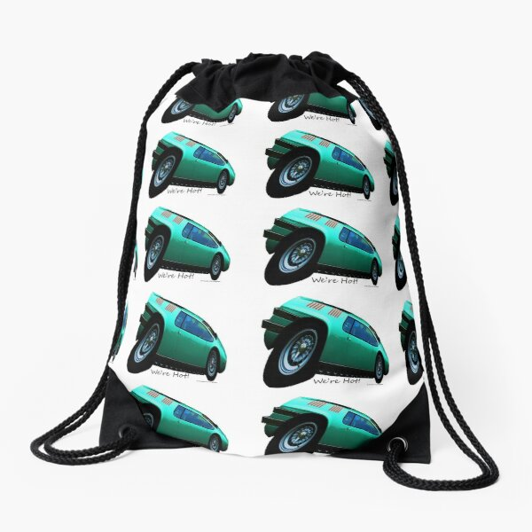 Imaginative Extreme Car Art Drawstring Bag