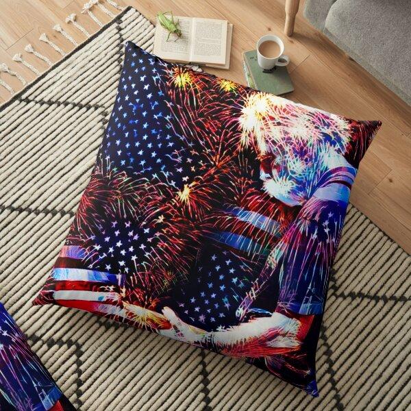 Bob Weir 7 Floor Pillow