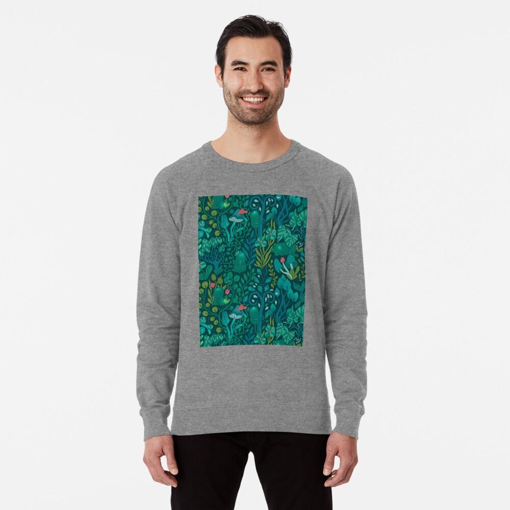 Emerald forest keepers. Fairy woodland creatures. Lightweight Sweatshirt