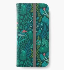 Emerald forest keepers. Fairy woodland creatures. iPhone Wallet/Case/Skin