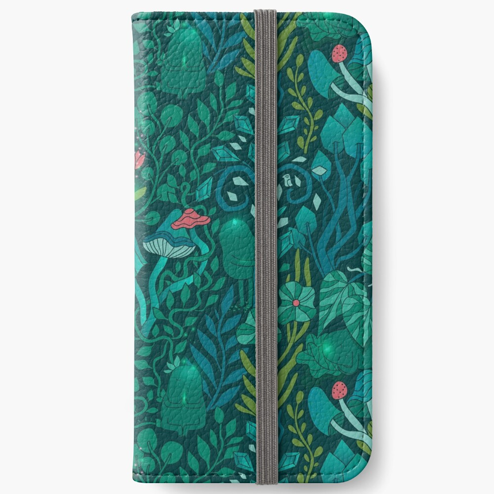 Emerald forest keepers. Fairy woodland creatures. iPhone Wallet