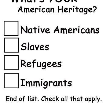 Checklist--Your American Heritage by deborahsmith