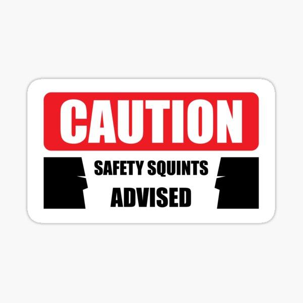 Safety Squints Sticker