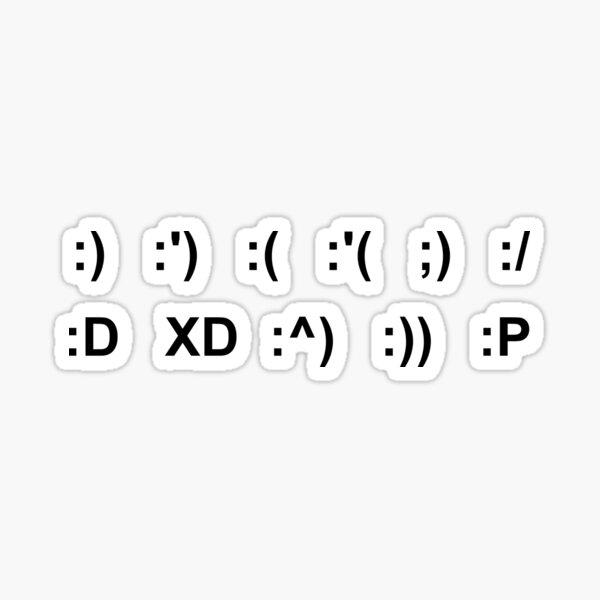 pegatinas emoticon Pegatina