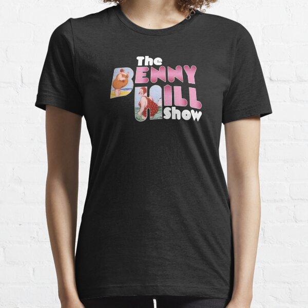 Benny Hill logo (clean) Essential T-Shirt