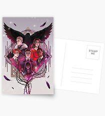 Postales Seis de cuervos