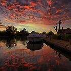 Horning Sunset by jakeof