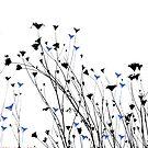 Wild Flowers In July by Bryan W. Cole