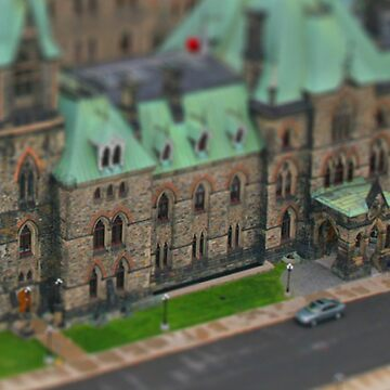Canadian Parliament  by snowsoldier