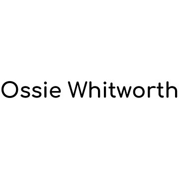 Ossie Whitworth by Simon-Peter