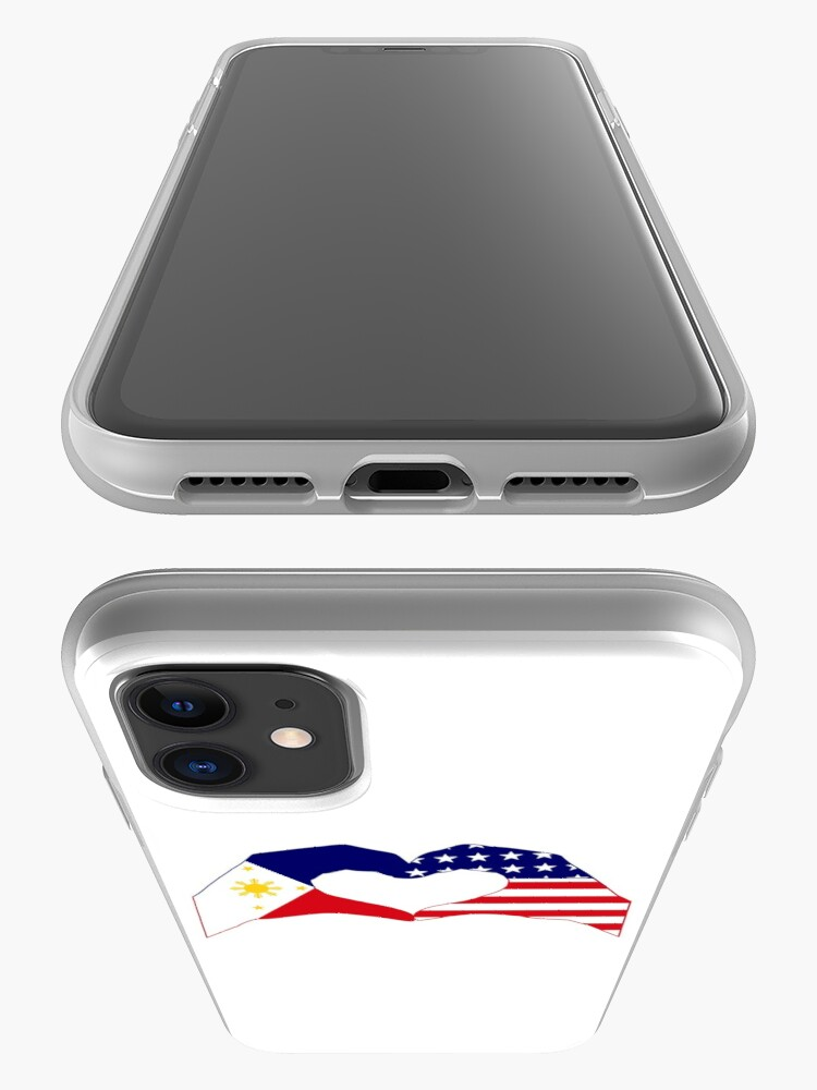 Alternate view of We Heart Philippines & U.S.A. Patriot Flag Series iPhone Case & Cover