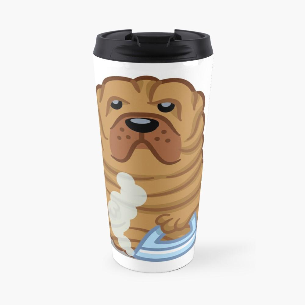 Funny Bulldog Boxer Tshirt - Dog Gifts for Boxer and Bulldog Pet Lovers Travel Mug