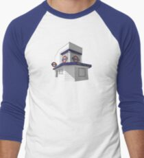 Trinity Road (Tooting Bec) Men's Baseball ¾ T-Shirt