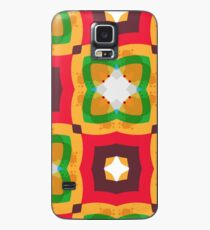 rings kunterbunt abstract circle seamless colorful repeat pattern Case/Skin for Samsung Galaxy