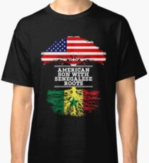 American Son With Senegalese Roots - Gift For Senegalese Son Classic T-Shirt