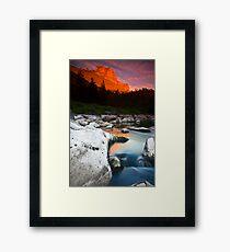 Smith Rock Gorge Framed Print