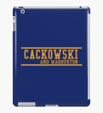 Community - Cackowski and Warburton iPad Case/Skin