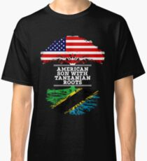 American Son With Tanzanian Roots - Gift For Tanzanian Son Classic T-Shirt
