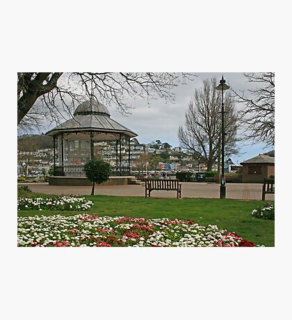Royal Avenue Gardens, Dartmouth Photographic Print
