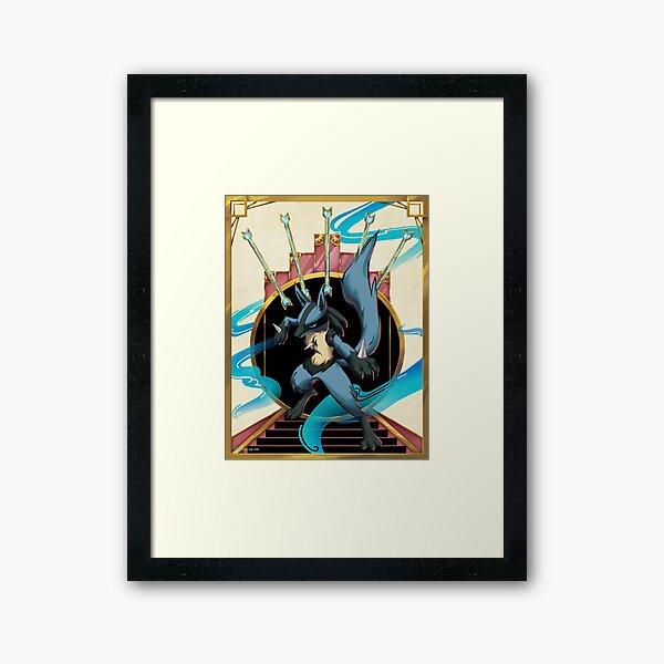 Aura and Bone Rush Framed Art Print