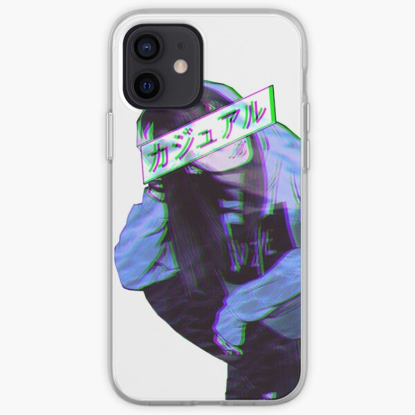 CONFORTABLE - SAD JAPANESE ANIME AESTHETIC Coque souple iPhone