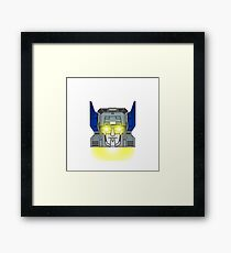 Maximus Headroom HEAD ON! (Textless Version) Framed Print