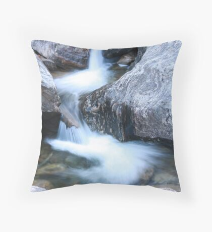 Rock Textures Throw Pillow