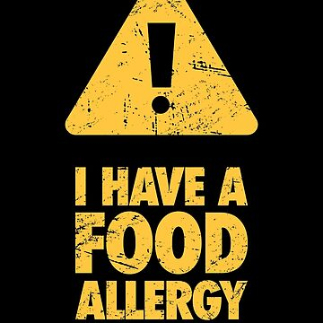 Warning - Food Allergy by EMDdesign