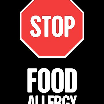 Stop - Food Allergy by EMDdesign