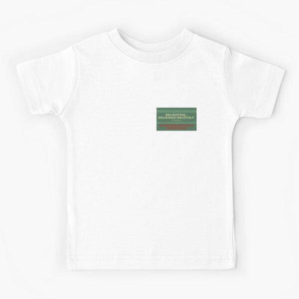 Delightful Delicious Delovely Kids T-Shirt