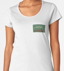 Delightful Delicious Delovely Premium Scoop T-Shirt