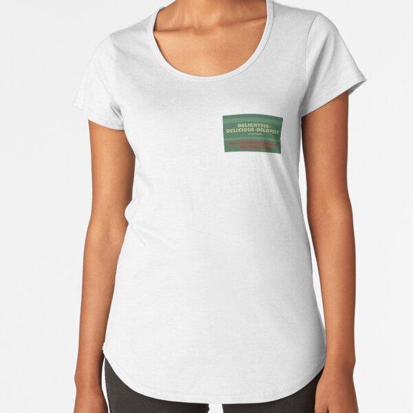 Delightful Delicious Delovely Premium Scoop T-Shirt