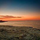Maltese Sunset by Jakov Cordina