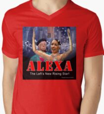 Alexandria Ocasio-Cortez Men's V-Neck T-Shirt