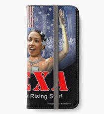 Alexandria Ocasio-Cortez iPhone Wallet/Case/Skin