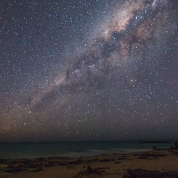 Entrance point Stars and Milky Way  by Elliot62
