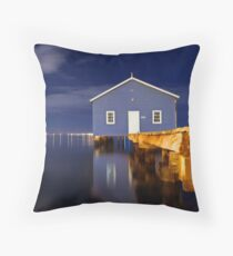 Crawley Edge Boatshed  Throw Pillow