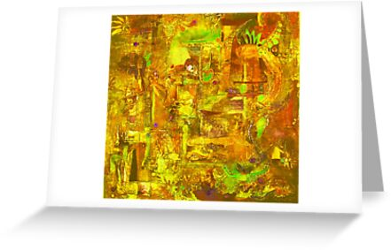 Busy Yellow by MelDavies