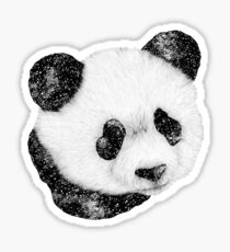 Cosmic Panda Sticker